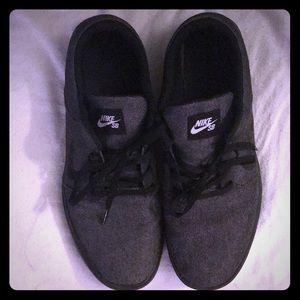 Men's Nike SB - Denim & Black Size 13